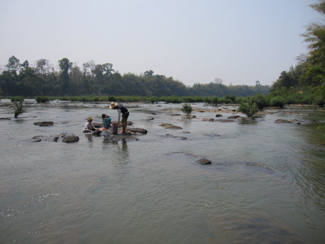 Tatai stream at Lum Phat