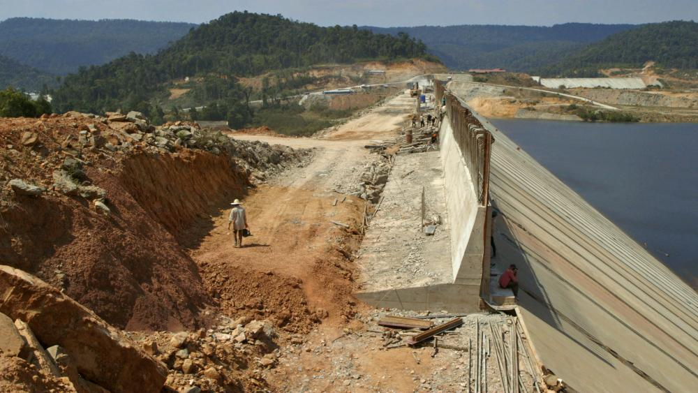 Dam Construction Site in Areng Valley