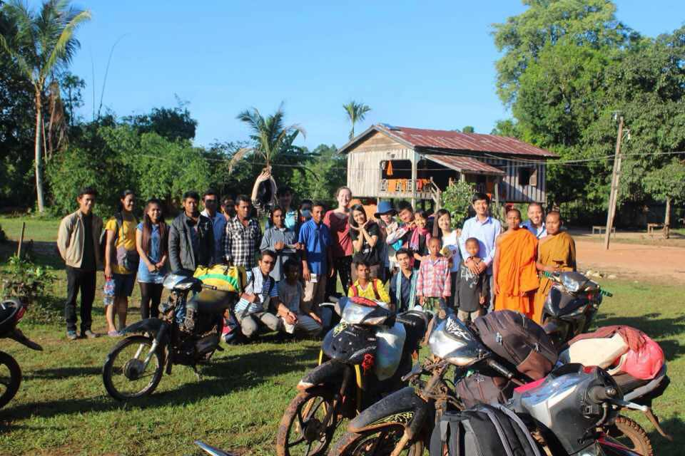 A group of Cambodian Peace fellows visiting Areng Valley